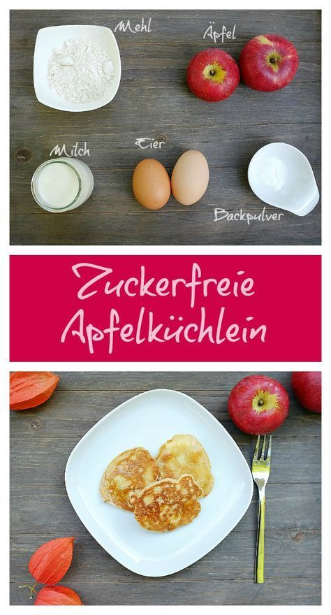 Photo of Sugar-free apple cakes – quick recipes from my kitchen