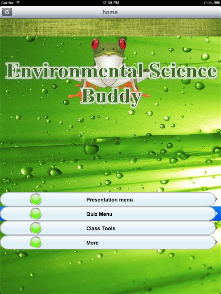Environmental Science Buddy Educational App Appymall Environmental Science Educational Apps Environmental Education