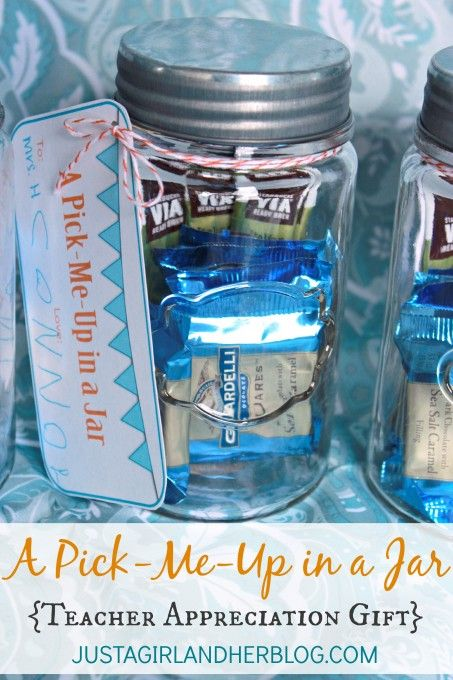 A Pick-Me-Up in a Jar w/ free printable