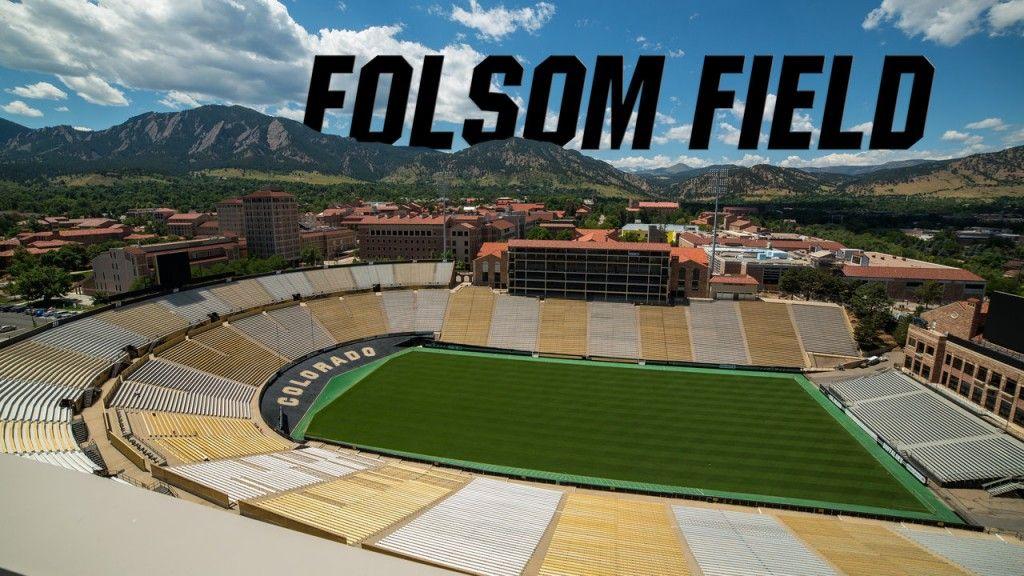Folsom field field folsom university of colorado