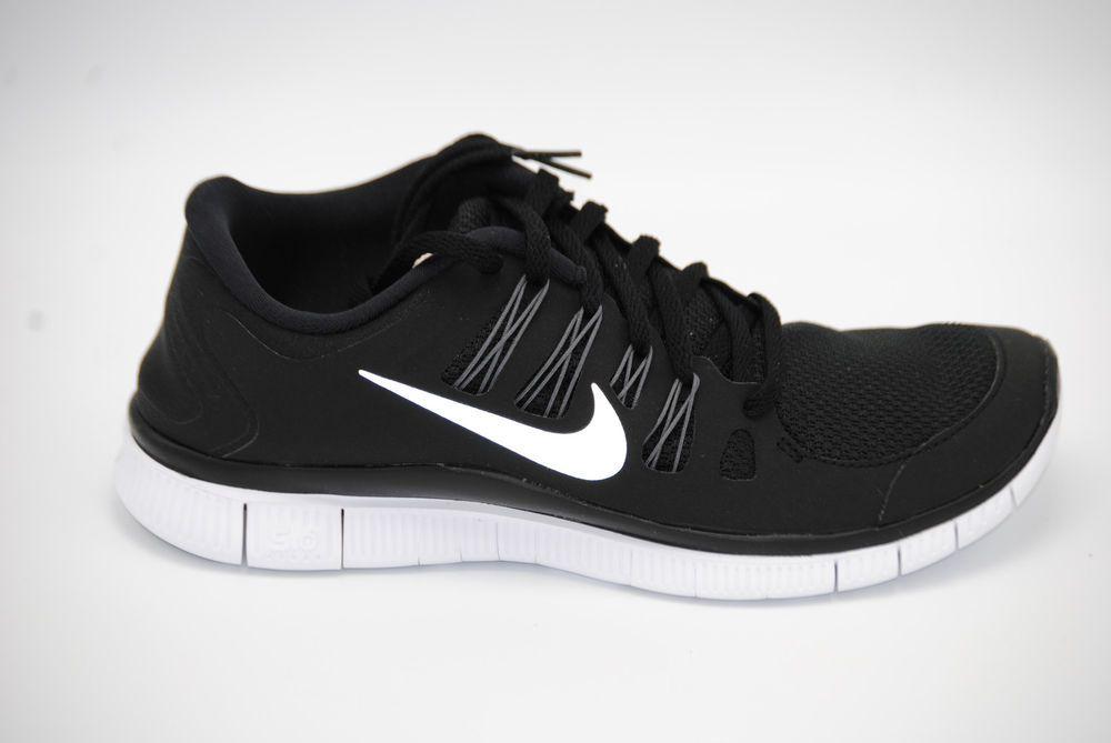Nike Free 5.0+ Womens Running Shoes 580591-002 Black