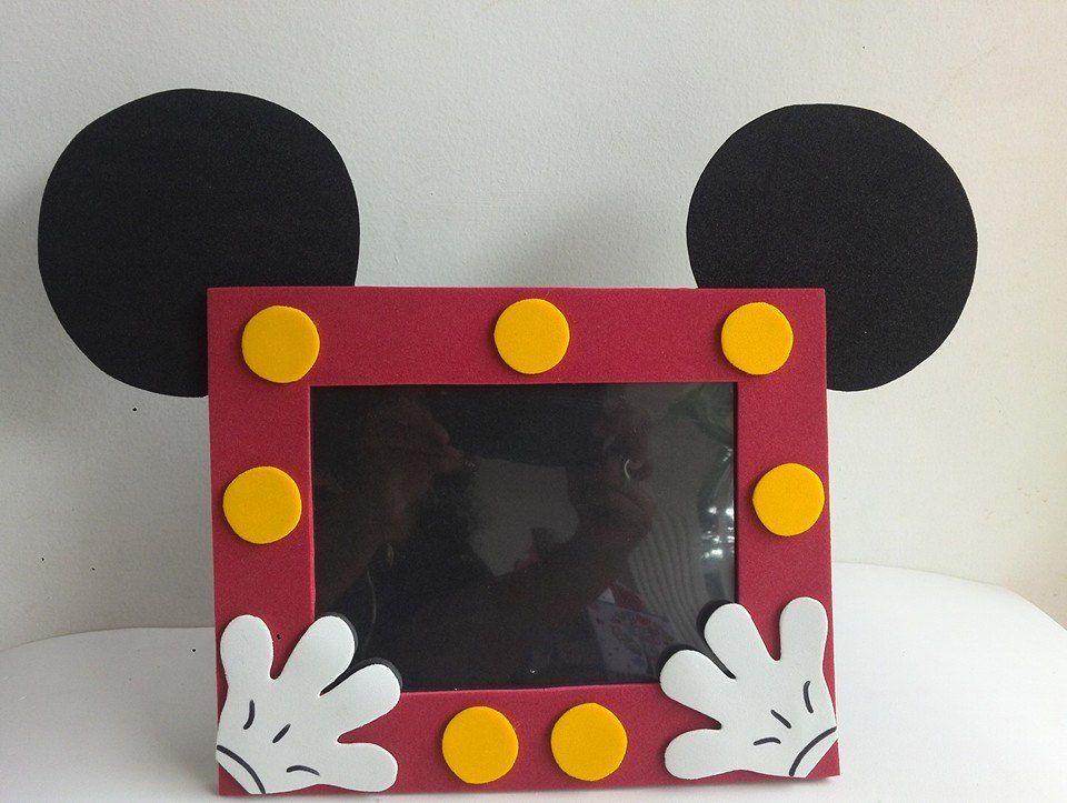 Wonderbaarlijk Mickey | Mickey mouse crafts, Mickey mouse birthday, Frames diy crafts AN-55