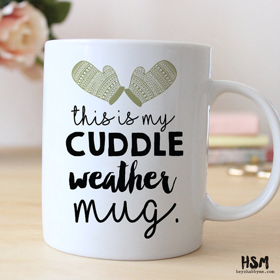 Brr! Stay cozy and cuddle up with coffee this winter! #MrCoffee