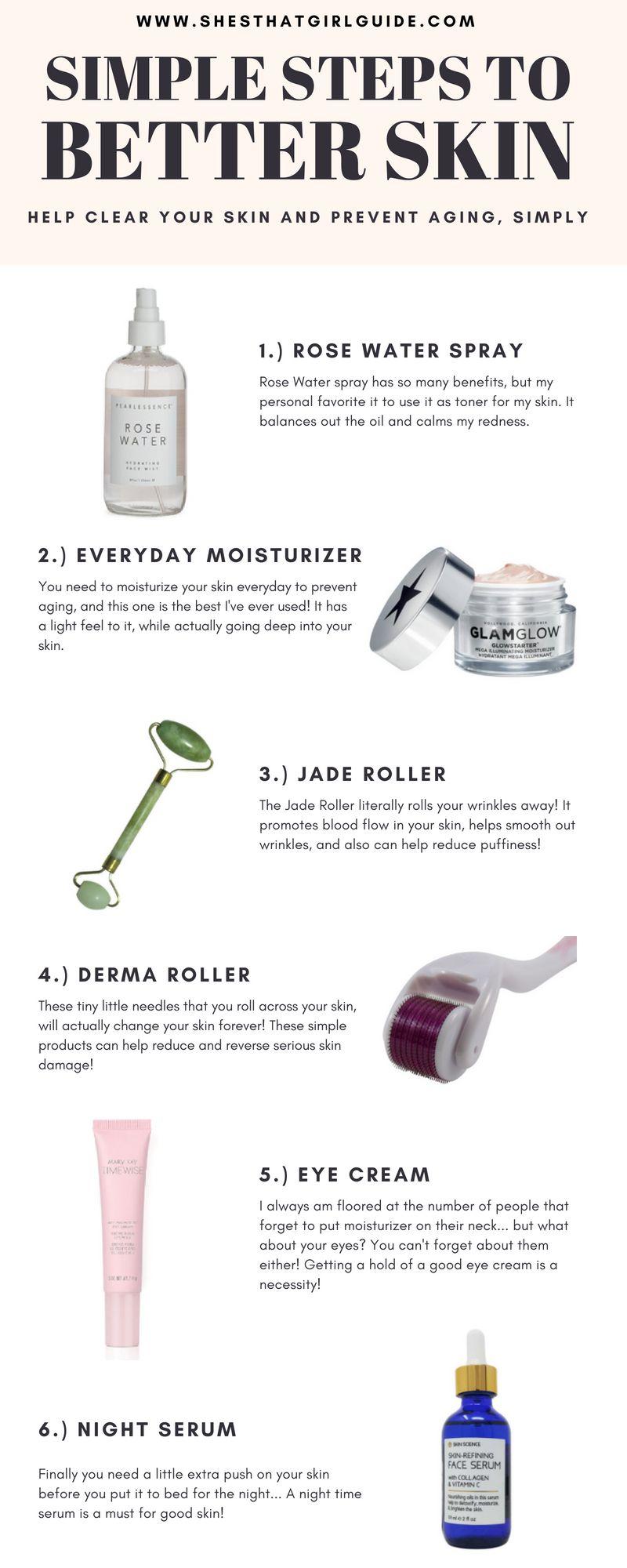 9 Easy Tips to Better Skin - Moriah Robinson  Better skin, Simple