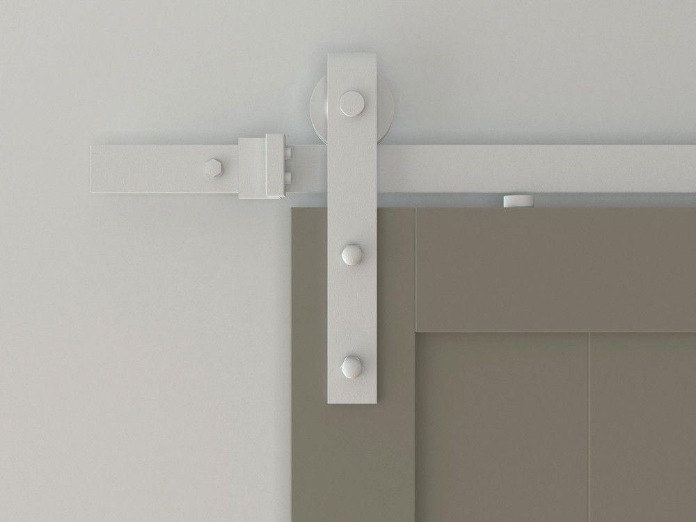 Designer S Collection Flat Rail Hook Strap Rolling Door Hardware