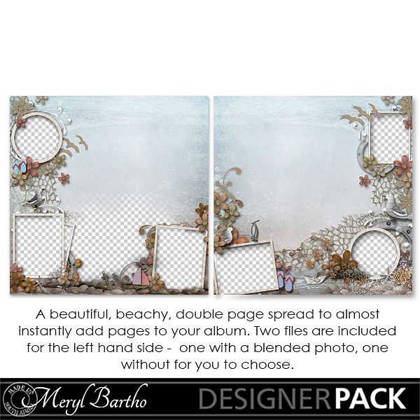 Summer Beach Double QuickPage