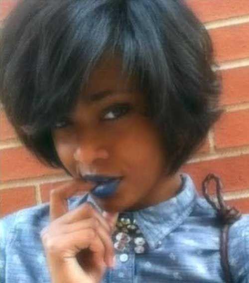 17 Best Bob Hairstyles For Black Women Kurze Haare Bob Bob Frisur Styling Kurzes Haar