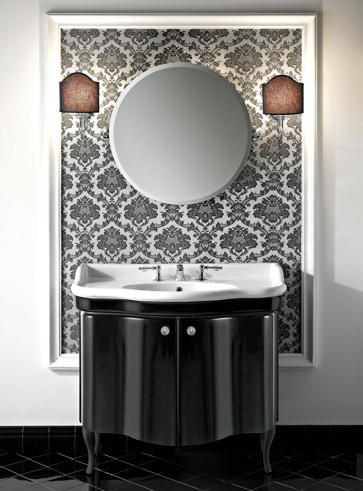 Badkeramik De.Sbordoni Vanity Units Badmobel Mit Keramik Waschtisch Nostalgie
