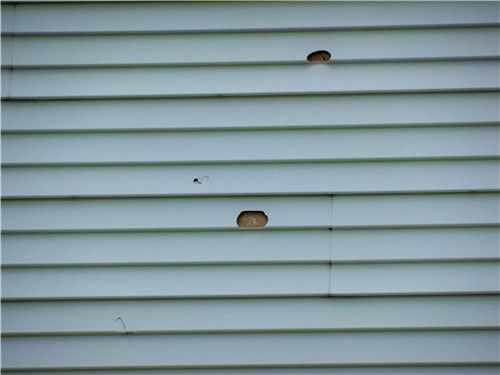 How To Repair Holes In Vinyl Siding Shell Busey S