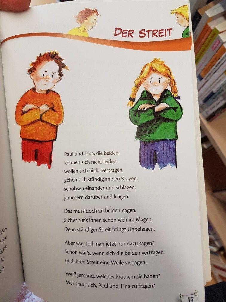 Der Streit Kita Kindergarten Erzieher Reim Gedicht