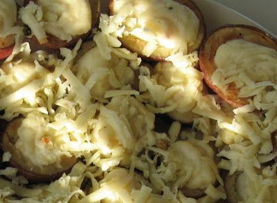 Kitchen Klique: Baby Twice Baked Potatoes