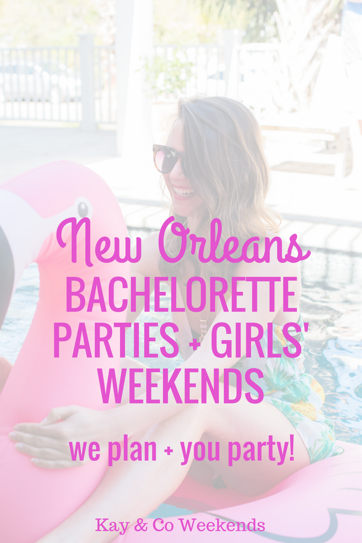 planning a New Orleans bachelorette party? Kay & Co is here to help ...