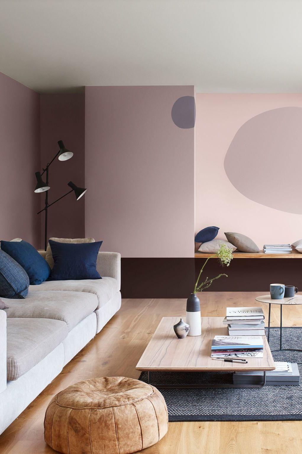 Peinture salon 43 couleurs tendance pour repeindre le salon idea peinture salon couleur - Tendance peinture salon ...