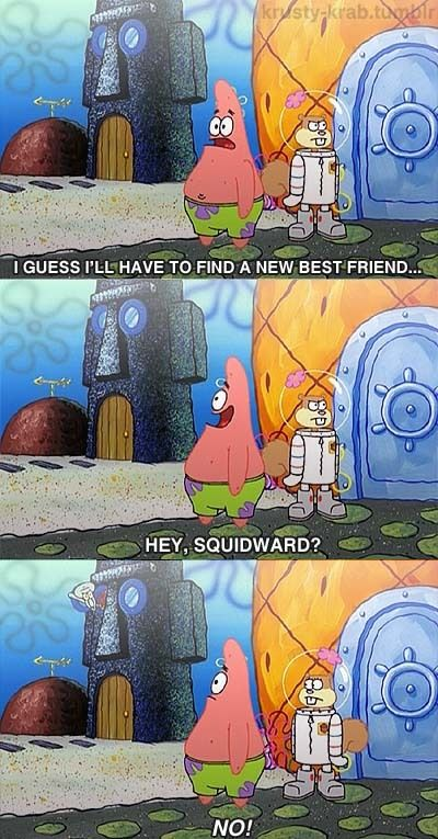 Patrick Facepalm Dont You Know Never Talk To Squidward