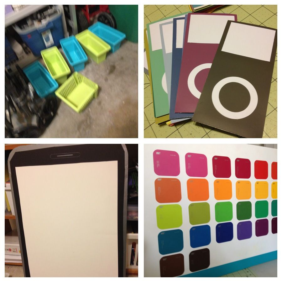 Classroom Design App : Ijoin paint chips for each class staff that joins as