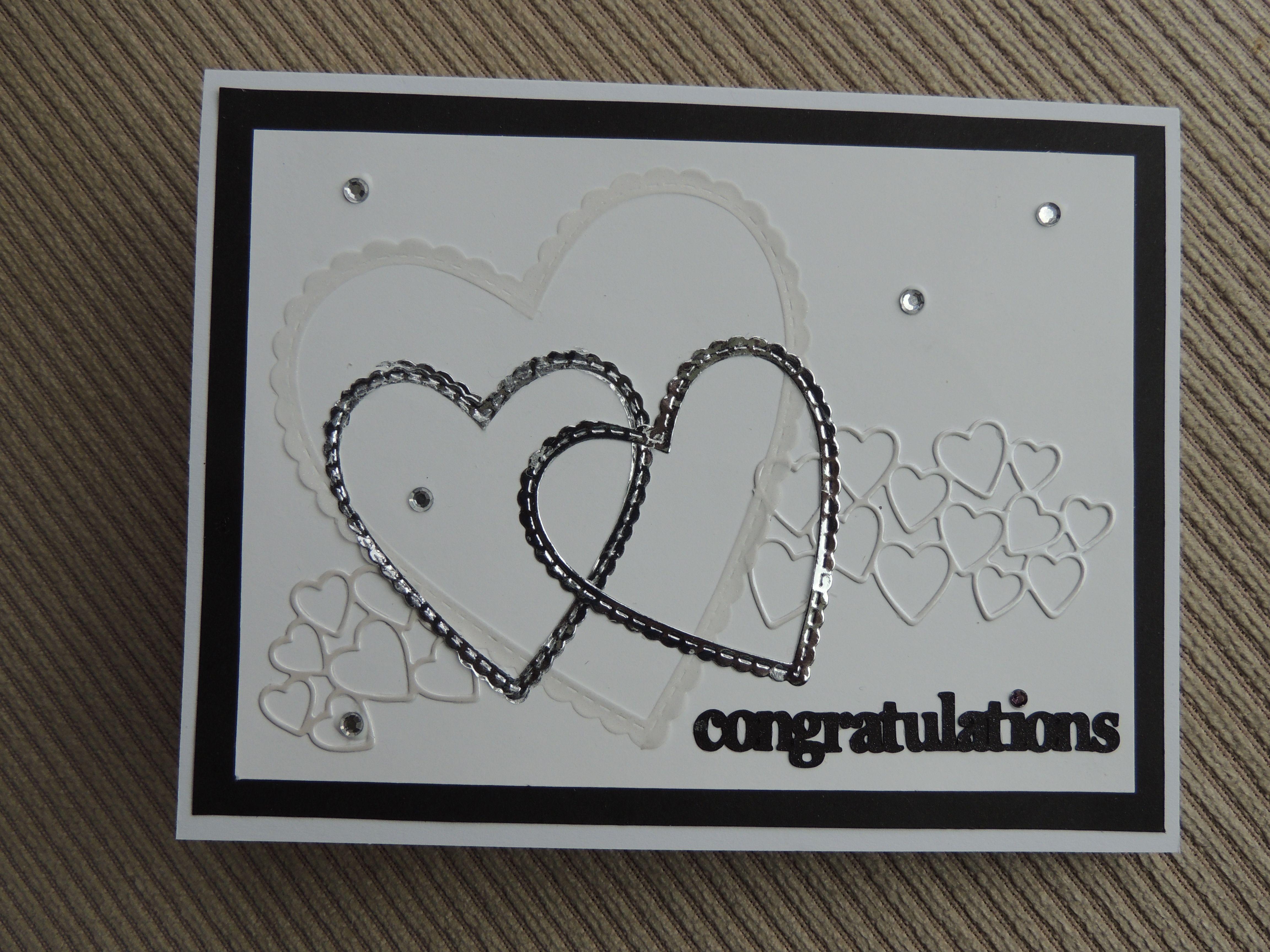 Su Be Mine Thinlits Anniversary Card Wedding Cards Handmade Happy Anniversary Cards Valentine Love Cards