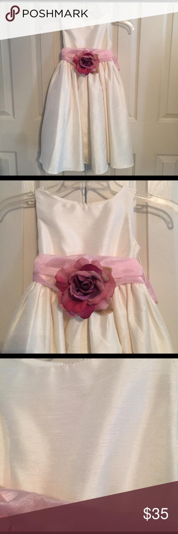 Kids dream pink rose dress kids dream pink rose dress size in