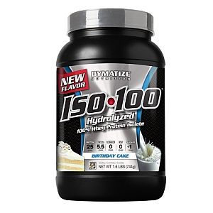 DymatizeR Nutrition ISO 100 Hydrolyzed Whey Protein Isolate