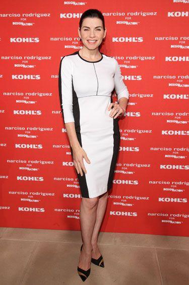 Narciso Rodriguez for Kohl's Celebration: Julianna Margulies in Narciso Rodriguez for Kohl's