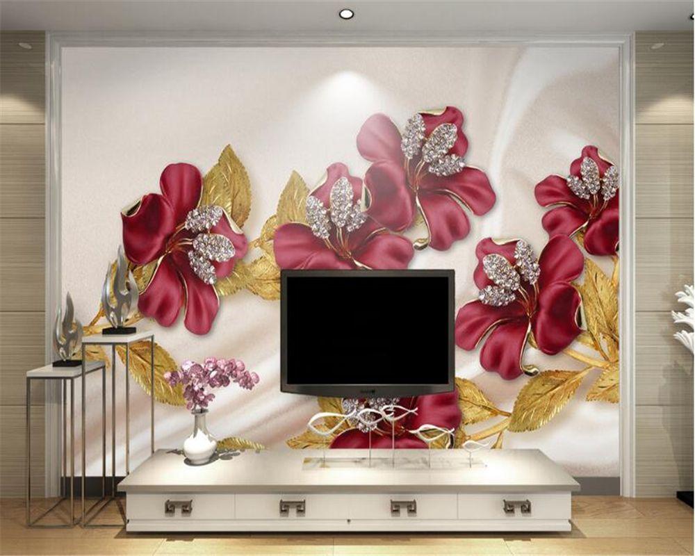 Wallpapers Beibehang Papel De Parede,custom Photo Wallpaper 3d Stereoscopic House Angel Cupid 3d Mural Wallpaper Tv Wallpaper For Walls 3 D Outstanding Features