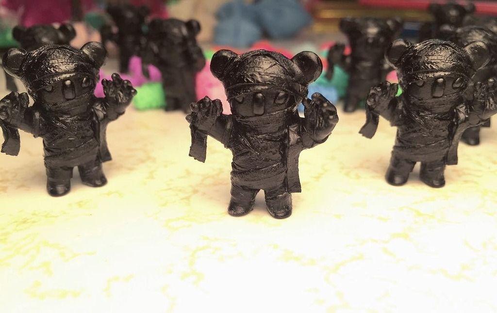 "Scott Wilkowski  Woot Bear's New ""Wootmumski"" & ""Wootkowski"" Resin Figures!"