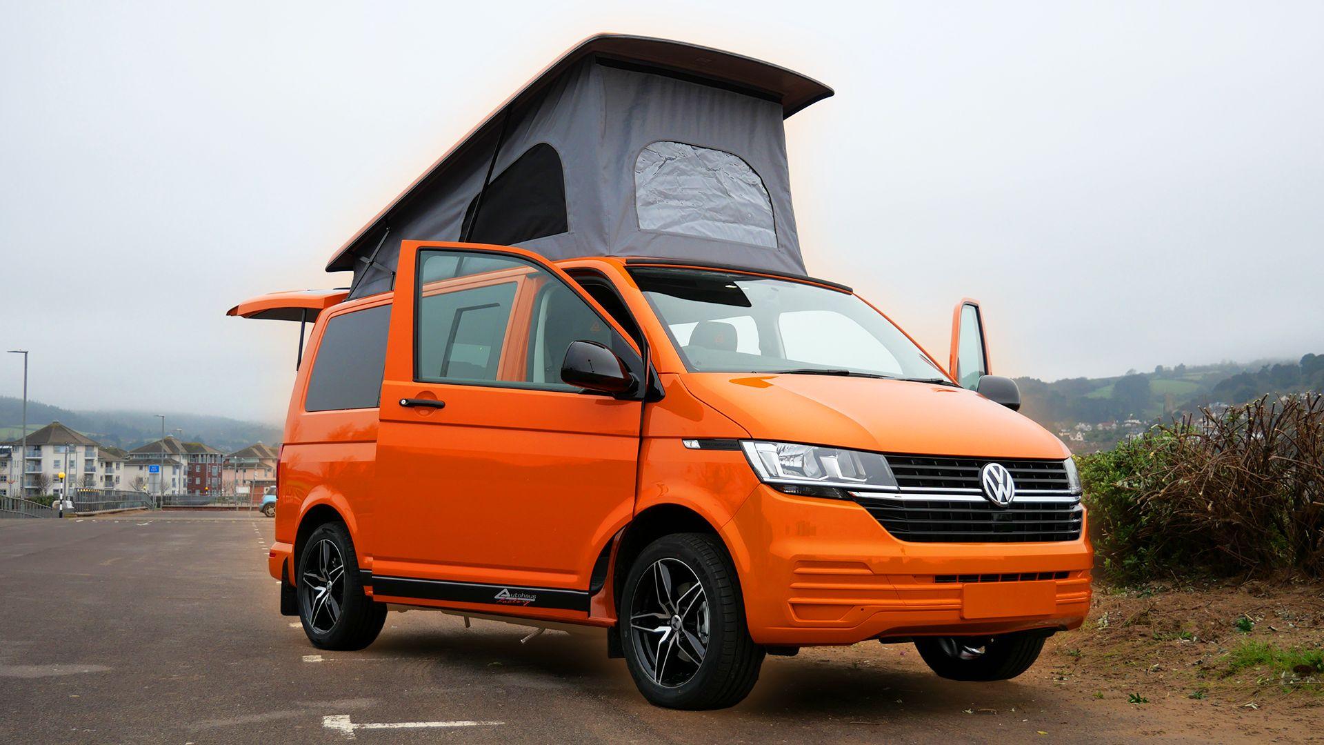 Vw T6 1 Camper Is The First Custom Conversion Of Its Kind In 2020 Volkswagen Van Van Life Camper