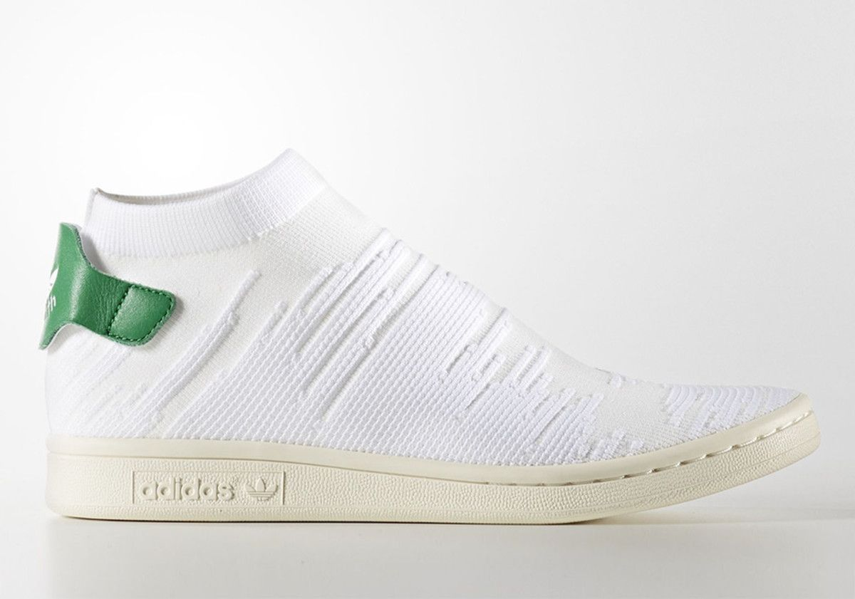 0b7e681b6a1 A First Look at the adidas Stan Smith Sock Primeknit