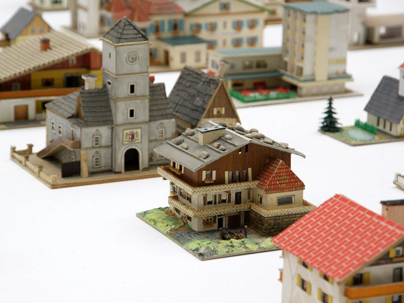 the 387 houses of peter fritz at the venice art biennale | paper art ...