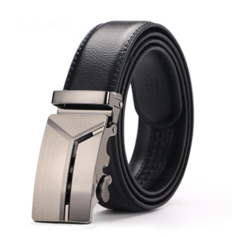 2b43b9aa5 New 110cm-130cm plus big size belt Classic brand Design men s automatic  buckle genuine leather