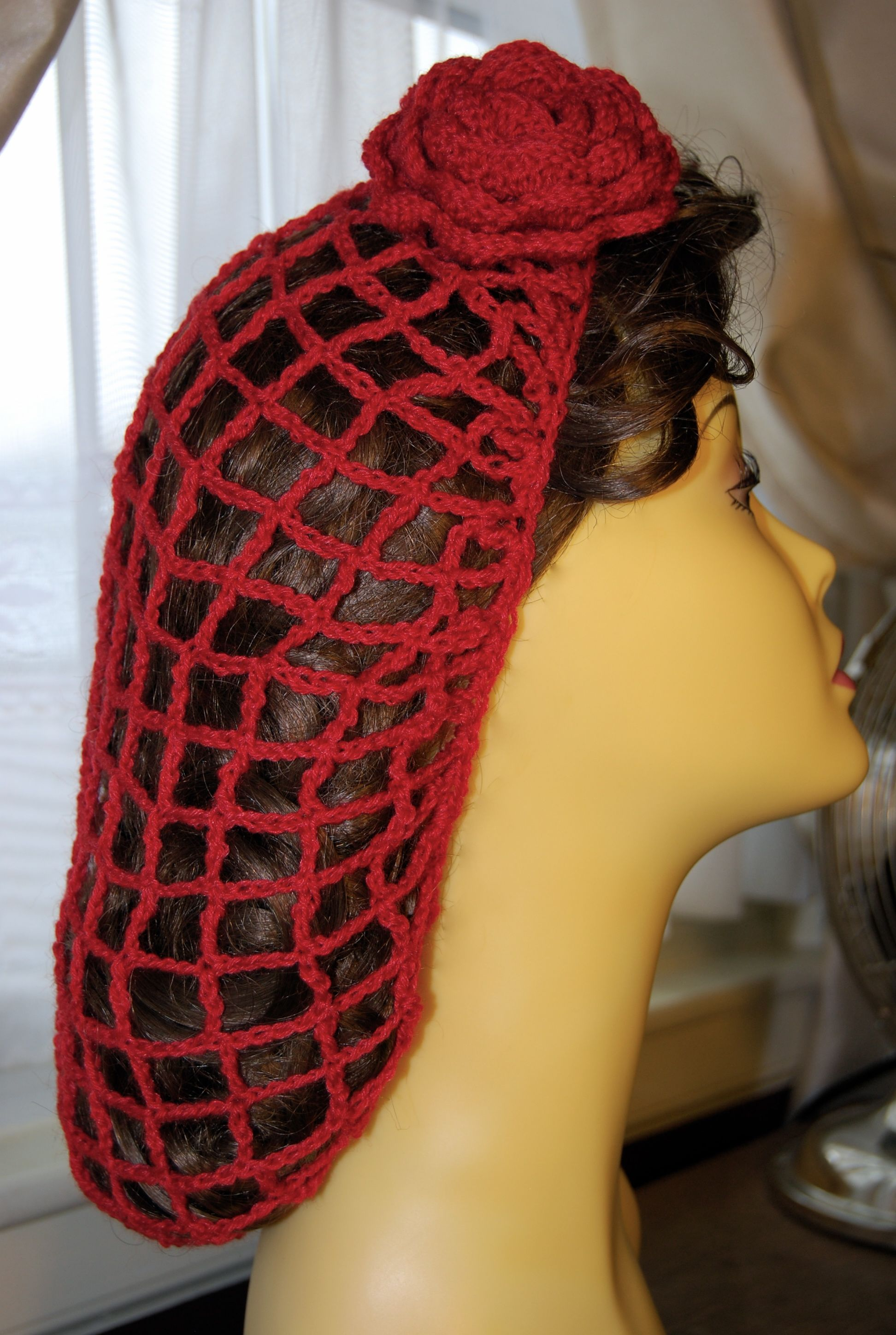 Hair Snood, Love this look | clothes | Pinterest | Hüte