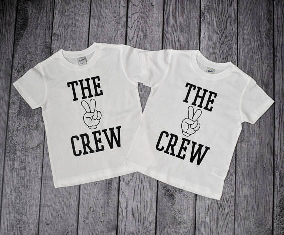 Twin Birthday Shirts 2 Year Old Boy