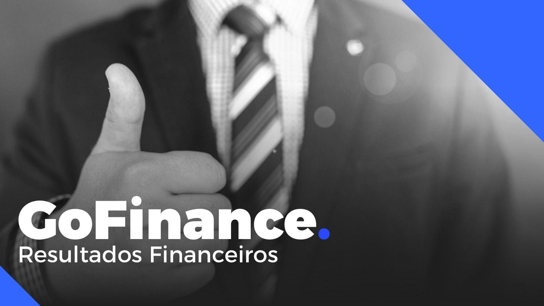 Tema De Powerpoint Para Resultados Financeiros Go Finance