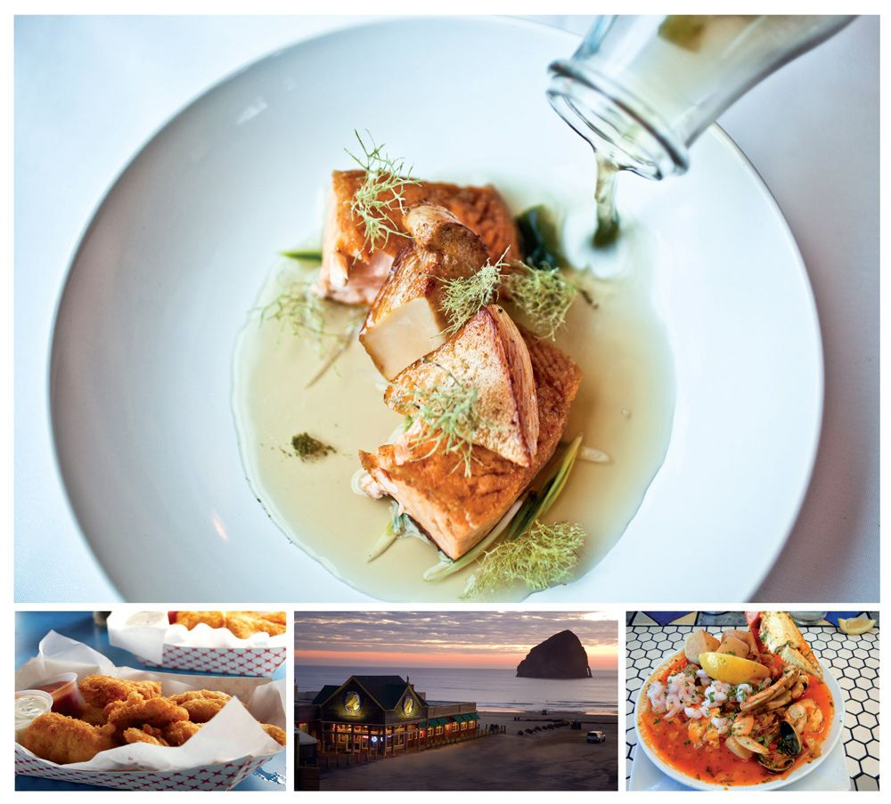Oregon Coast Seafood Circuit From fish and