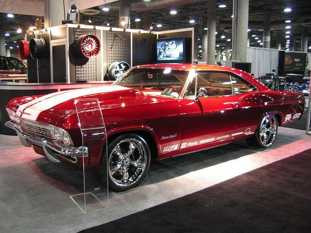 die besten 25 chevrolet impala ideen auf pinterest 1965. Black Bedroom Furniture Sets. Home Design Ideas