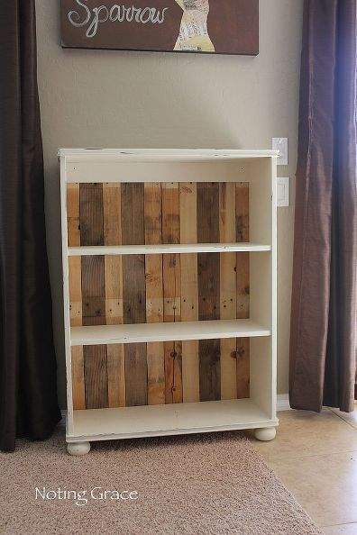 Diy Pallet Bookcase How To Repurposing Upcycling Storage Ideas Easy Project In Less Than An Hour