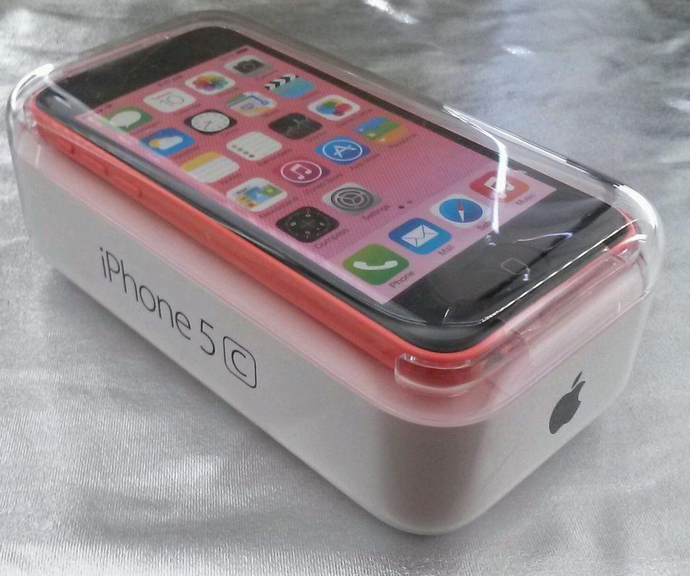 Apple iphone 5c 16gb pink unlocked smartphone pink