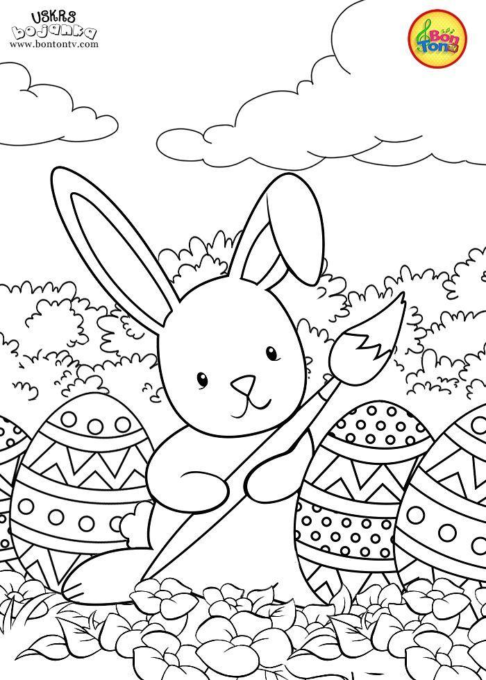 malvorlagen ostern - uskrs bojanke za djecu - kostenlose