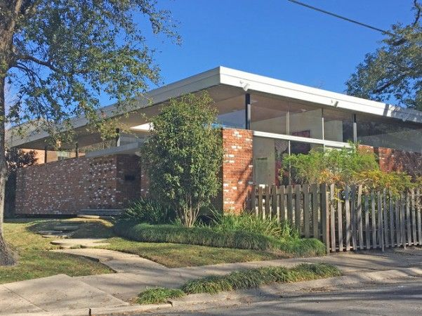 Modern Architecture New Orleans 5 noteworthy mid-century modern houses in new orleans | food