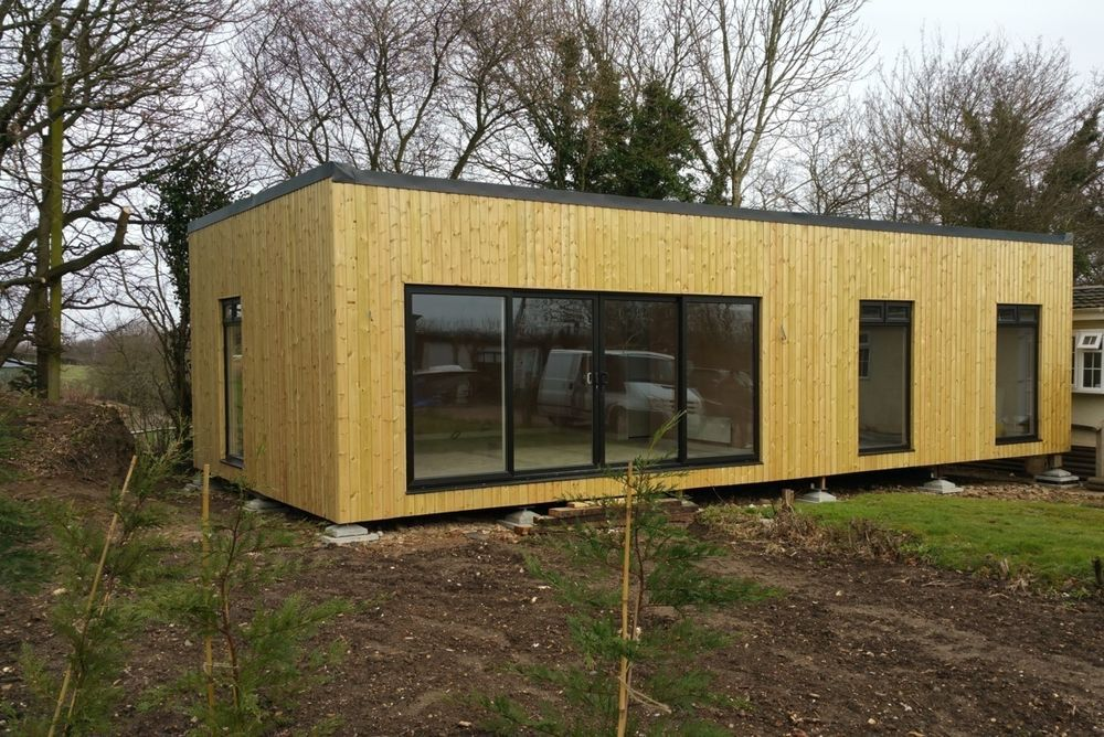 3 Bed Timber Frame Self Build House Kit Meets Mobile Home Rules