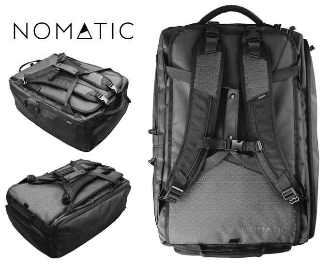 The NOMATIC Travel Bag  The Most Functional Travel Bag Ever! This is a very 07cdab72e8e08