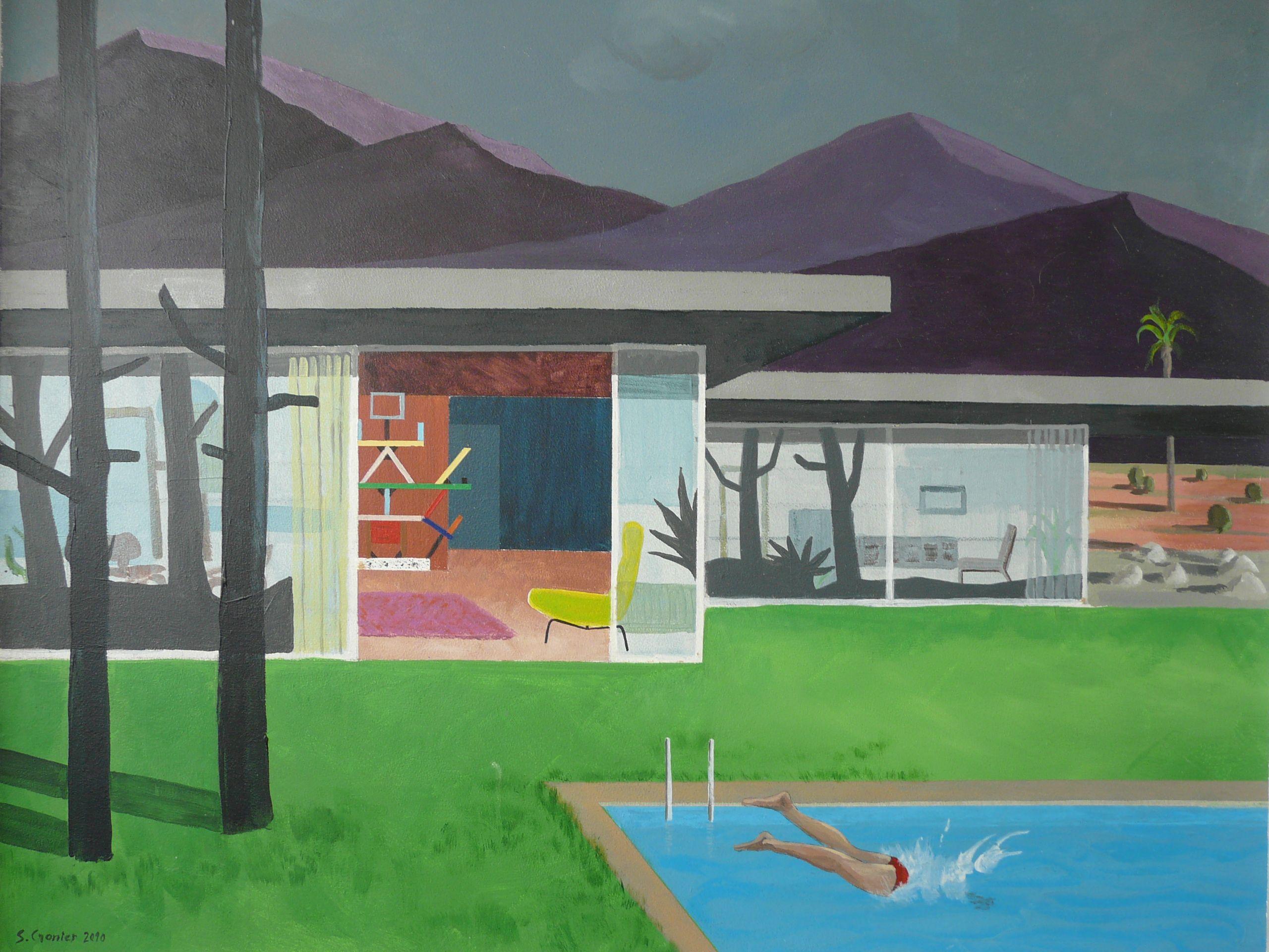 Midcentury modern house le plongeon Mid Century Love