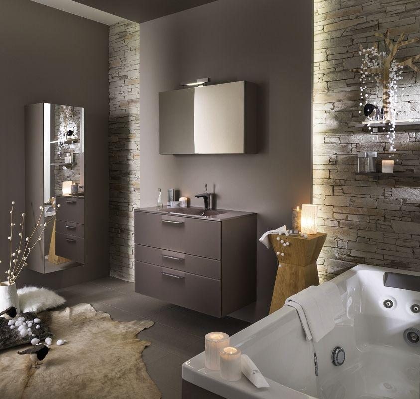 1000 images about ides salle de bain on pinterest - Salle De Bain Taupe