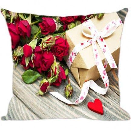 Almofada Digital Flores em tecido para decorar sua casa ou dar de presentes para amigas, mamães, namoradas confira! www.luisadecor.com.br