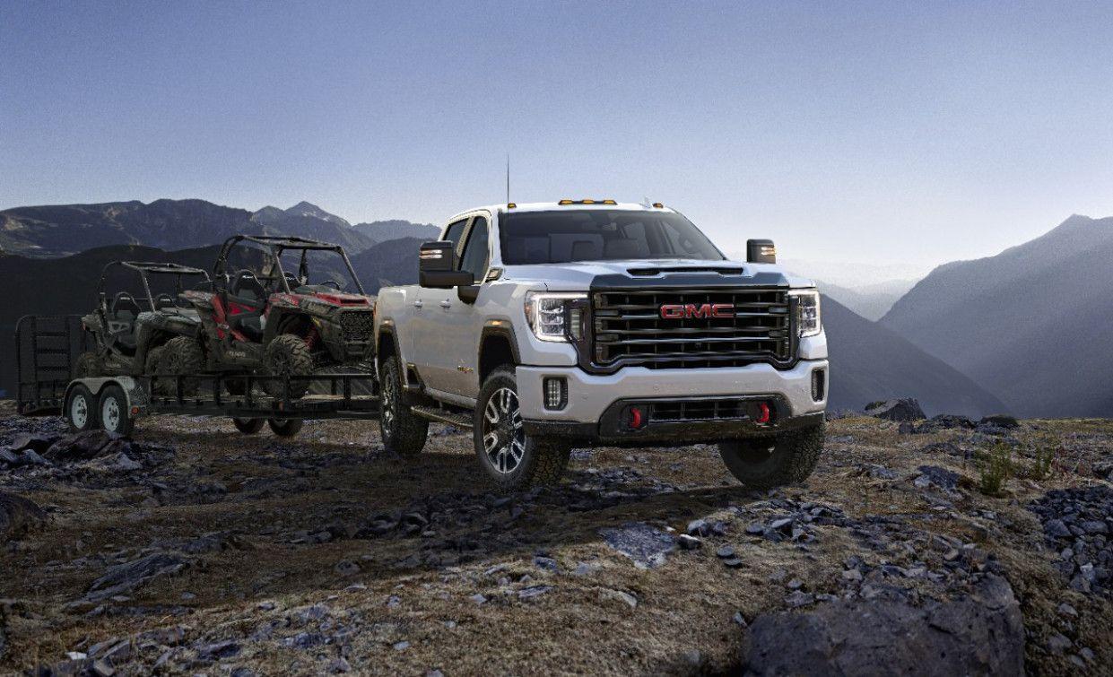 2018 Gmc Sierra Denali Tow Like A Pro In Style Gmc Trucks Gmc