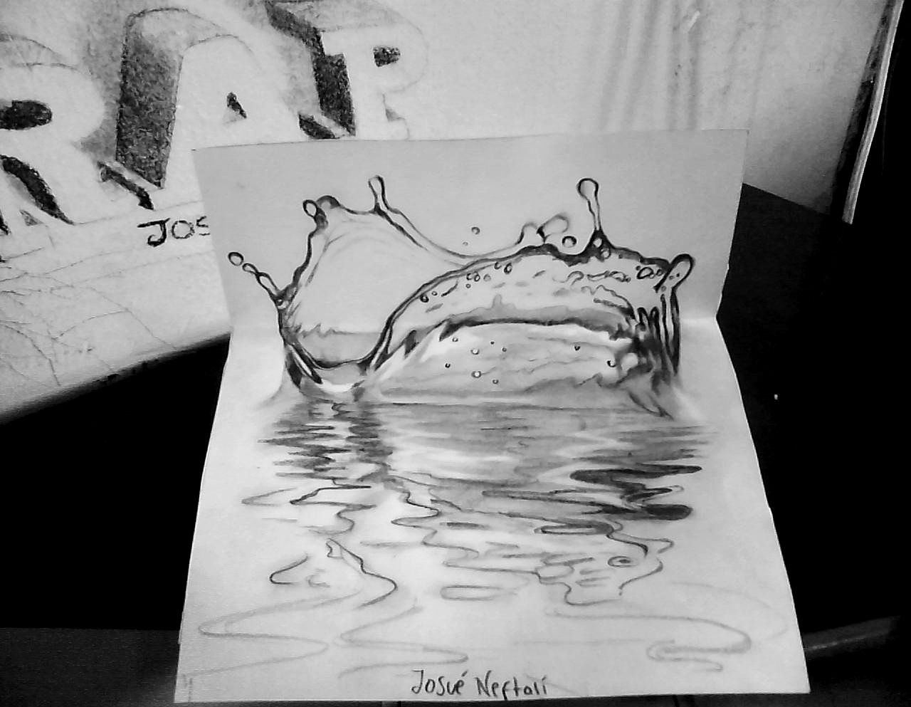 dibujo 3d  Buscar con Google  3D  Pinterest  Sketches and Drawings