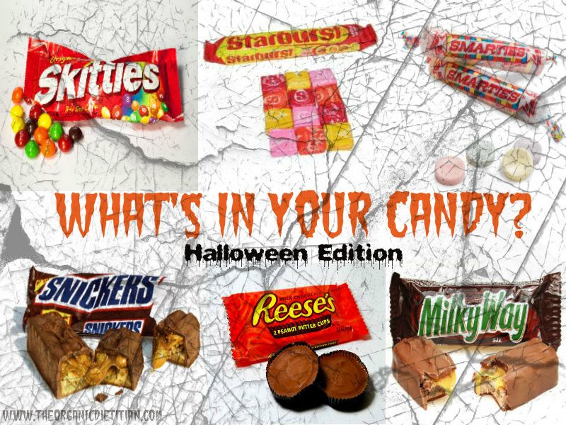 What's in Your Candy? Halloween Edition Healthy