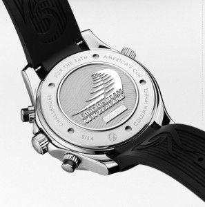 OMEGA Seamaster Diver ETNZ Limited Edition Caseback