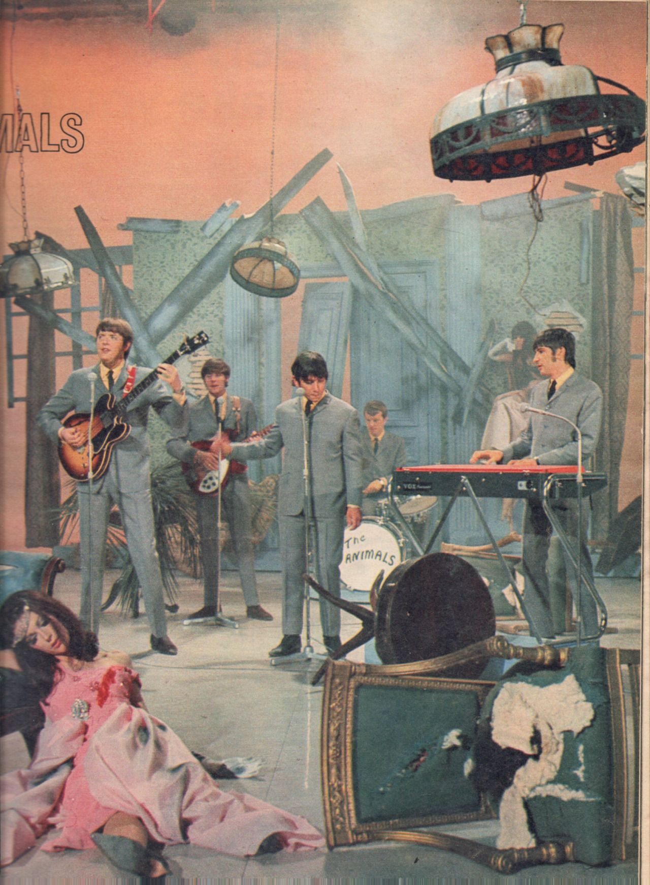 Pin on Eric Burdon .. The House of the Rising Sun 1964