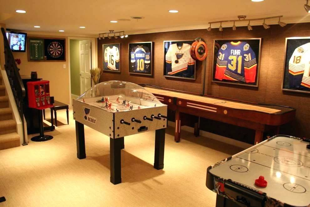 Well, things have changed o. Best Basement Rec Room Ideas (With images) | Game room ...