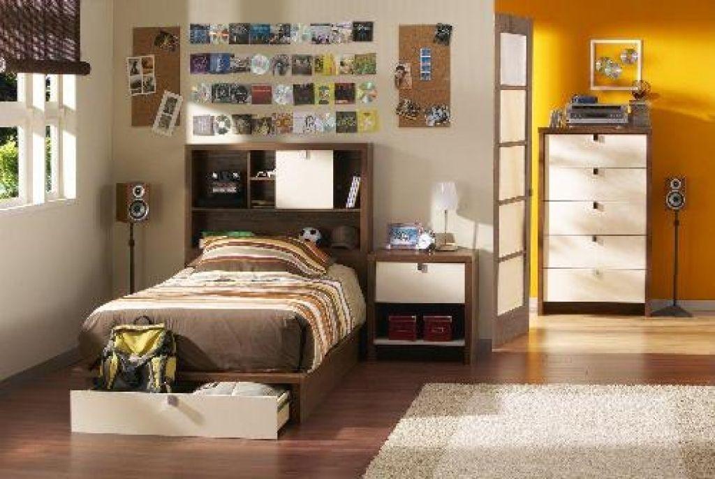 Möglichkeiten, um zu dekorieren Schlafzimmer Wände (mit